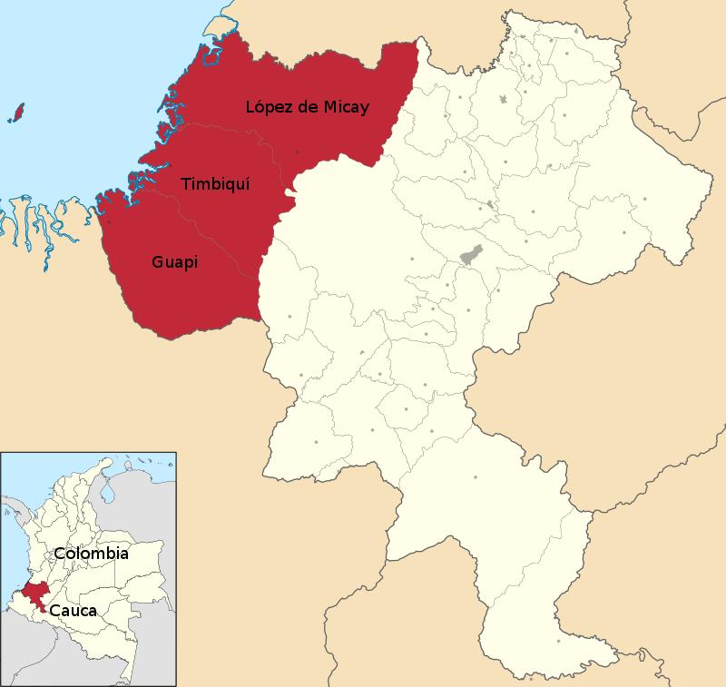 Web mapa costa caucana